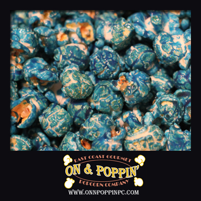 Blue Raspberry Flavored Popcorn