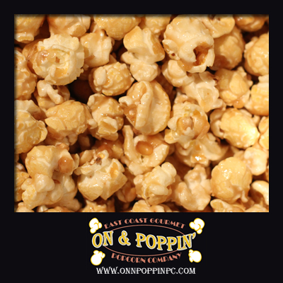 Butter Toffee Flavored Popcorn with Peanuts