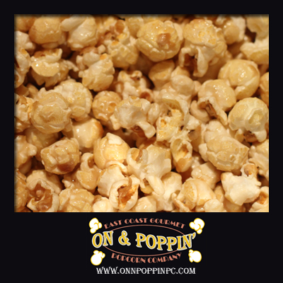 Caramel Cheese Flavored Popcorn
