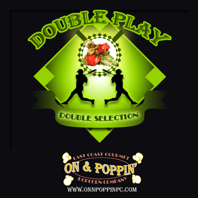 Double Play 3.5 Gallon Custom Gourmet Popcorn