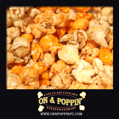 Orange Cream Flavored Popcorn