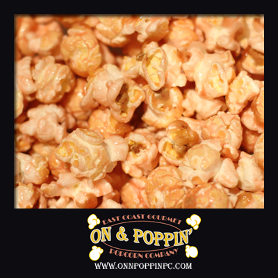 Strawberries & Champagne Flavored Popcorn