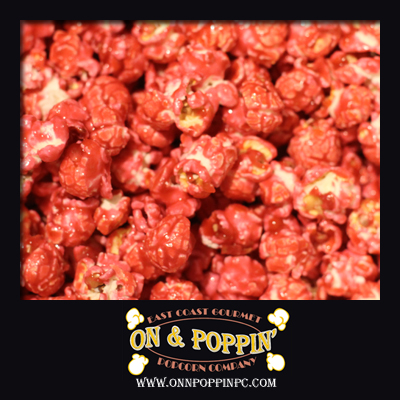 Watermelon Flavored Popcorn